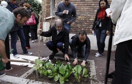 Assistance à jardinier citoyen