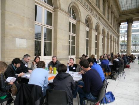PARK(ing) DAY 2012 Agora Livre Vert Ateliers