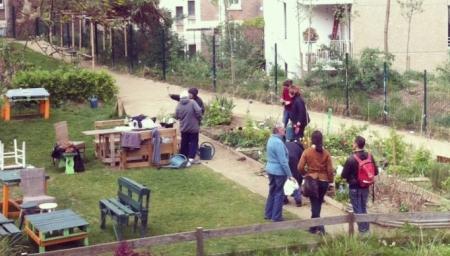 Repérages Promenades urbaines enrichies Nature en ville 2012