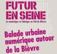 Affiche Balade urbaine numérique Bièvre