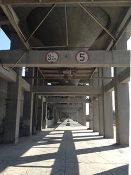 Alignement de silos - Ancien accès véhicule