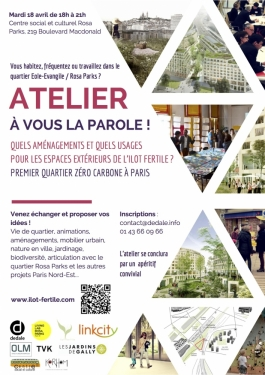 Atelier Ilot Fertile 18 avril 2017