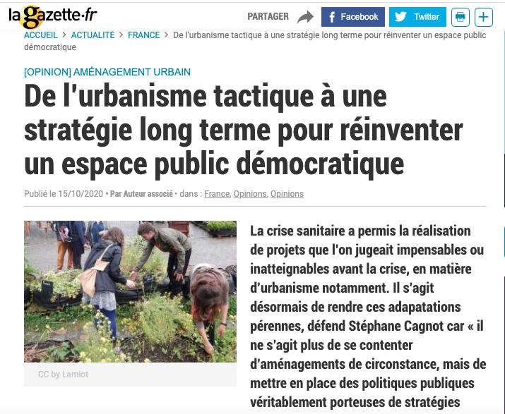 Capture d'écran Gazette des communes © https://www.lagazettedescommunes.com/