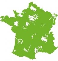 Carte France PARKING DAY 2012