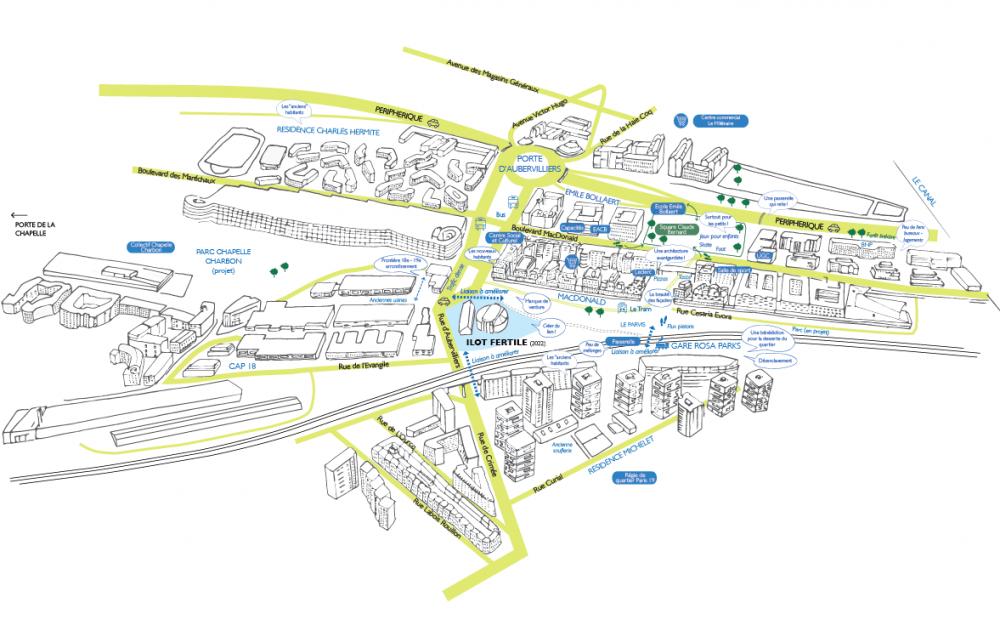 Cartographie de synthèse - retour vers le futur © dédale