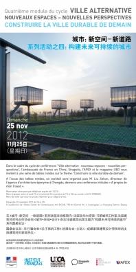 Construire la ville durable de demain Pékin Chine
