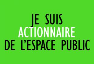 Je suis actionnaire de l'espace public