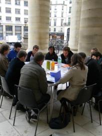 Livre Vert Atelier Ville innovante PARK(ing) DAY 2012