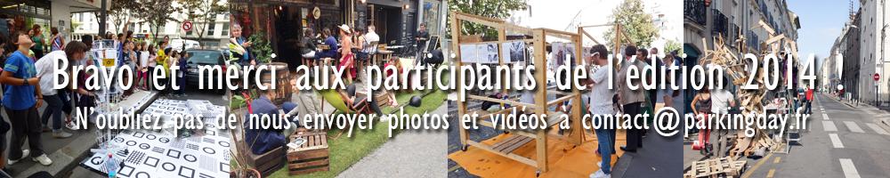 PARK(ing) DAY 2014 - Merci à tous les participants !
