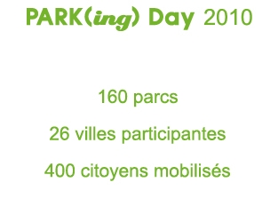 parking day bilan 2010