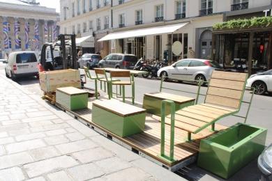 Parklet Rue de la Bourse