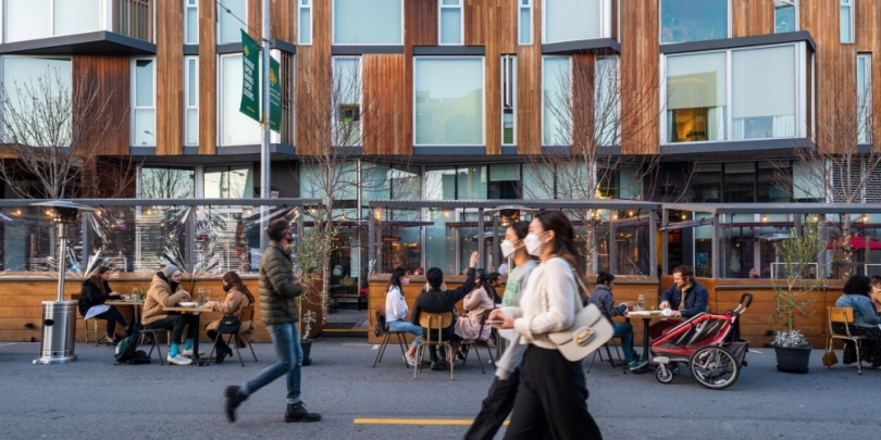 Parklets, Patios, Social Infrastructure and the Public Realm