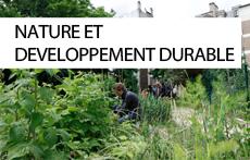 Thématique Nature et développement durable / Dédale