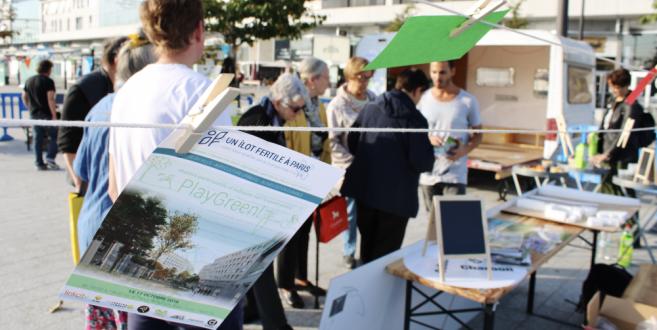 Ilot Fertile, Programme d'activités 2018 autour de la médiation et la préfiguration du projet urbain !