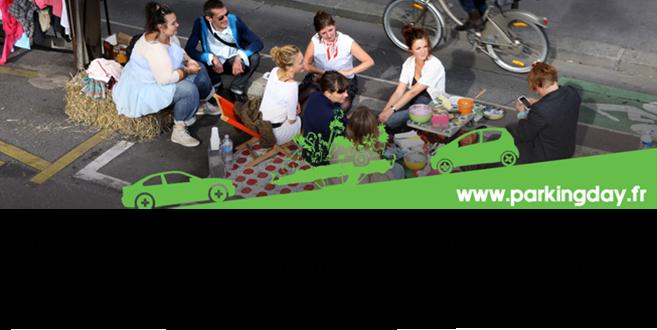 PARK(ing) DAY  | Réappropriation citoyenne et artistique de l'espace urbain