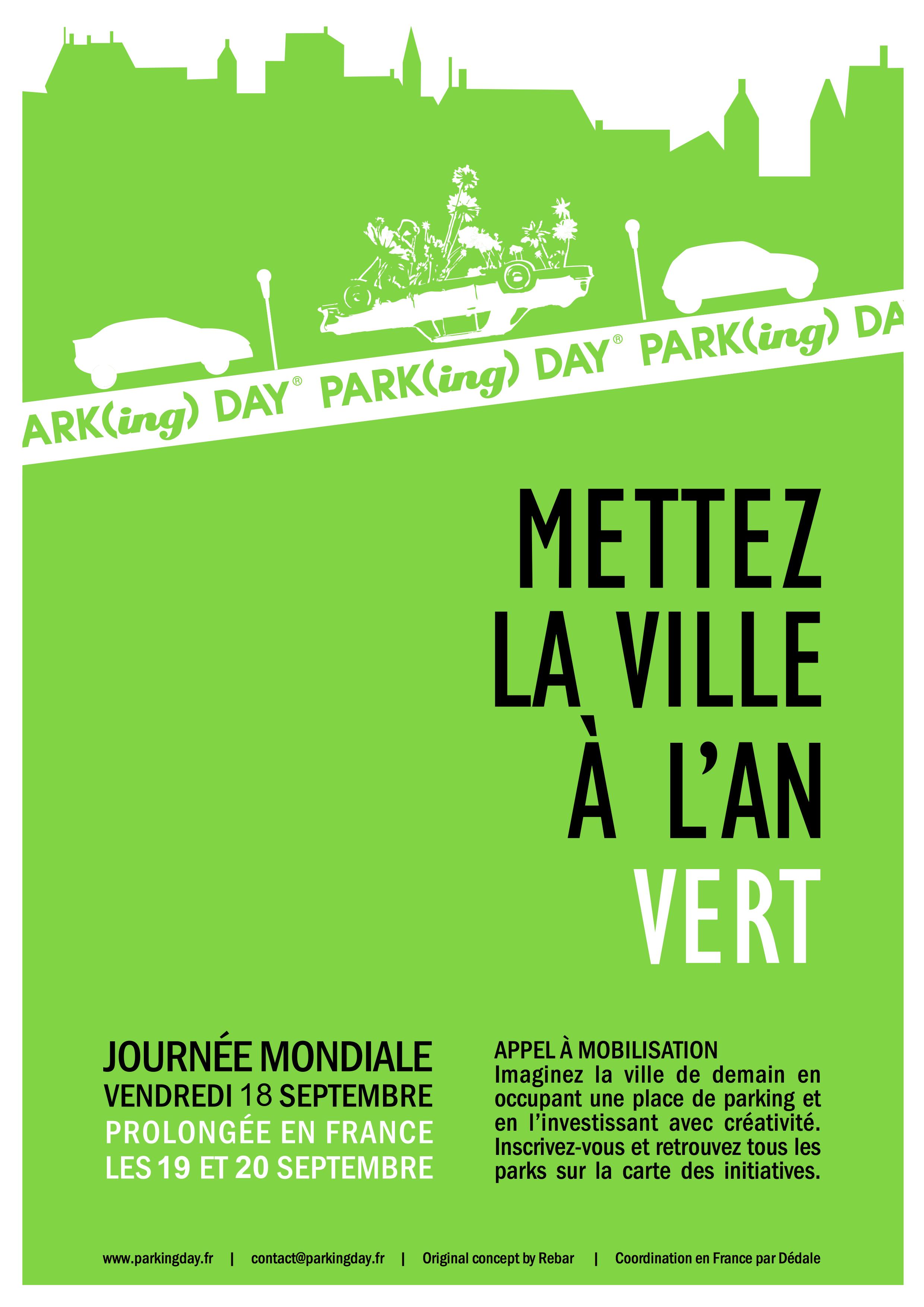 Affiche PARK(ing) DAY 2020